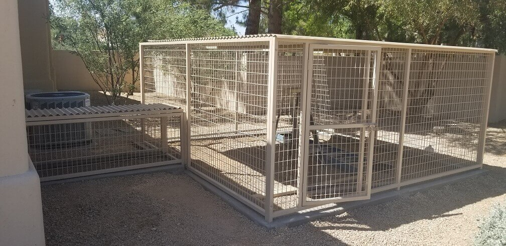 Scottsdale Coyote Proof Kennels