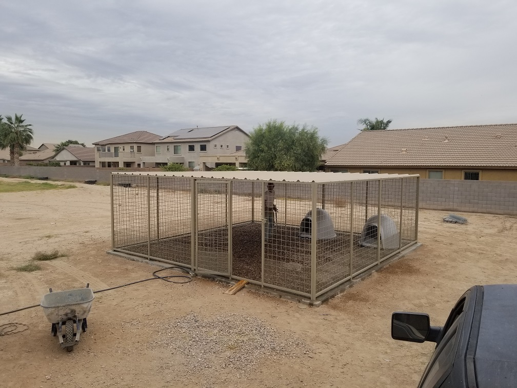 Large Commercial Kennels