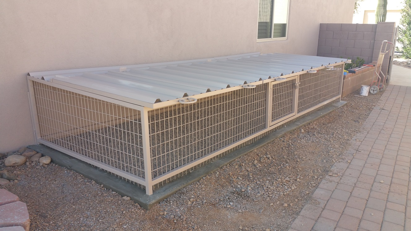 California Coyote Proof Pet Kennels