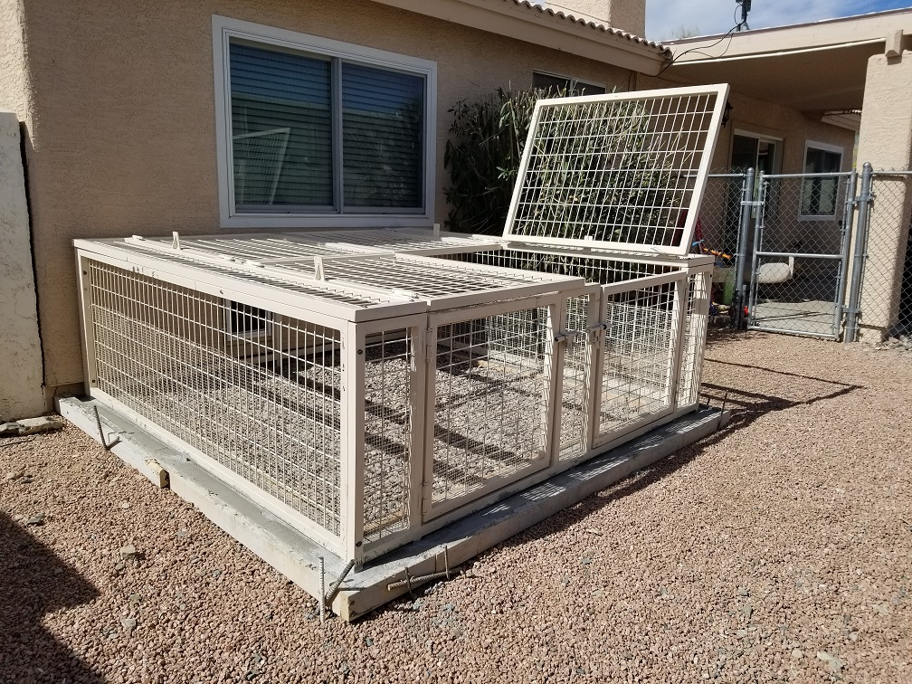 Scottsdale Kennel Installation