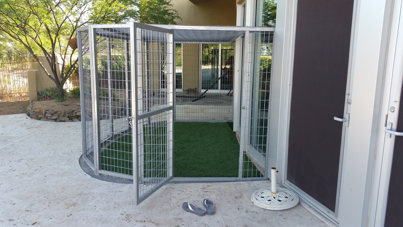 Arizona Coyote Proof Pet Kennels For Sale Phoenix Az Dog