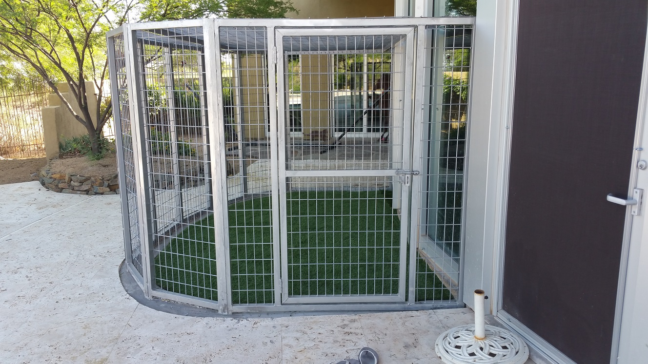Outdoor Kennels Shipped Nationwide.