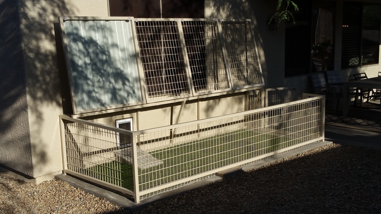 Attractive Yet Impenetrable Enclosures For Pets