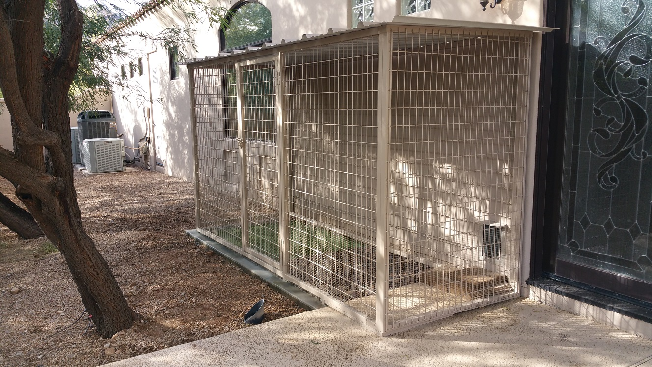 6 FT Tall Walk In Kennels For Dogs