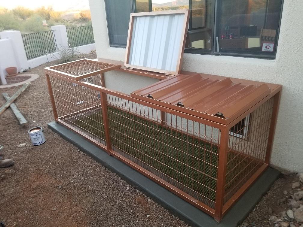 Scottsdale Kennel Installation