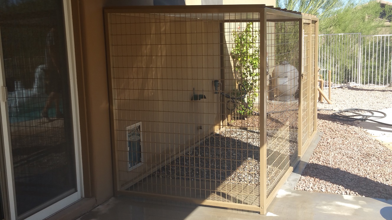 Predator Proof Pet Kennels in CA.
