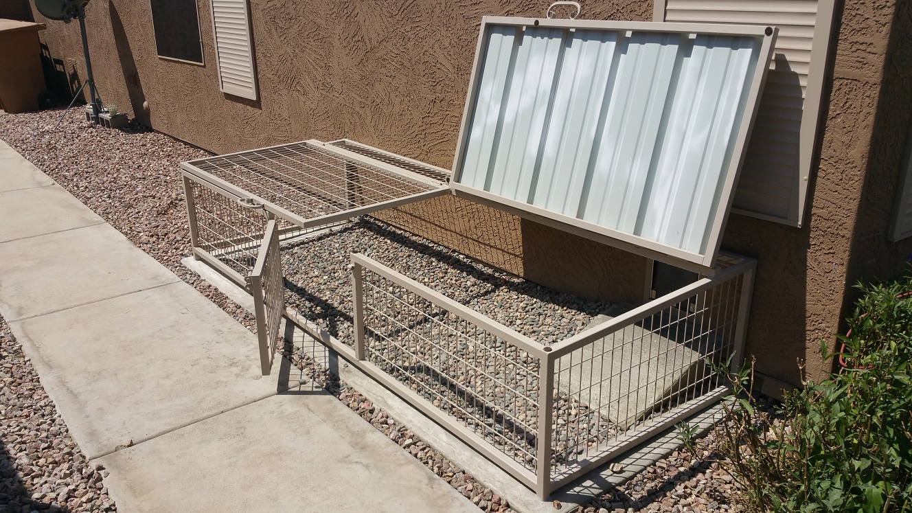 Arizona Dog Kennel Installation.