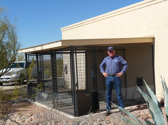 Kennels Custom Built and Shipped To You!