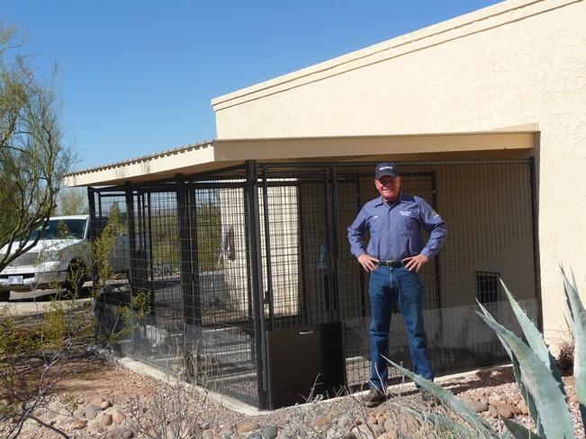 Az Custom Made Pet Kennels Kennel Installation Arizona