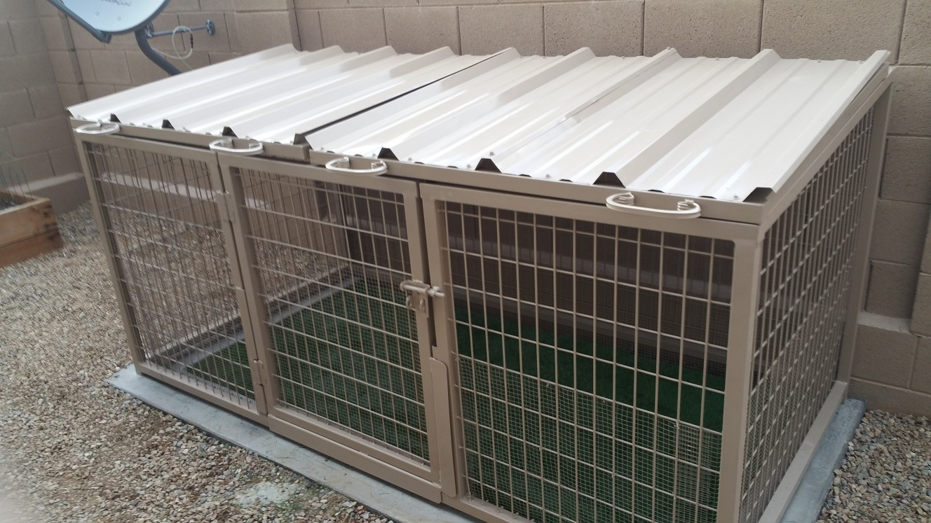 Arizona Pet Safe Dog Kennels in Phoenix.
