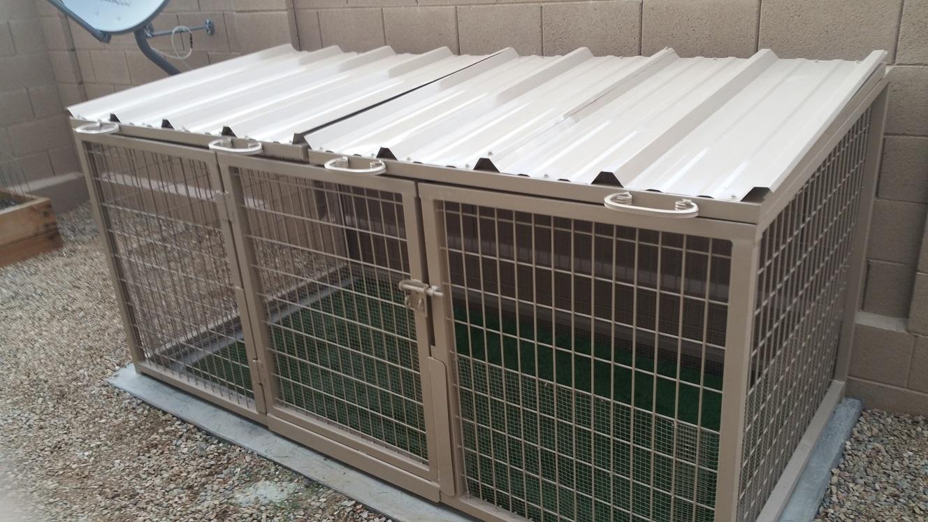 Arizona Pet Safe Dog Kennels in Phoenix.