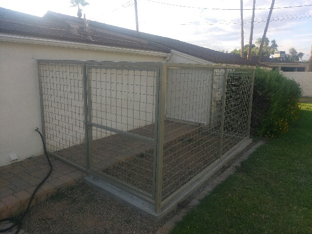 Coyote Proof Pet Enclosures