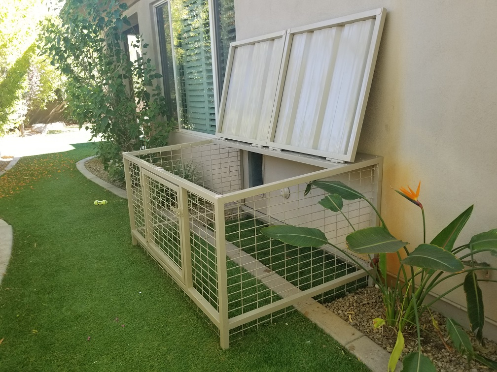 Coyote Proof Pet Kennels Installed!