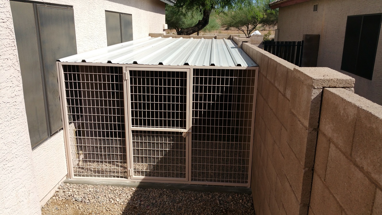 how to build a coyote proof dog run