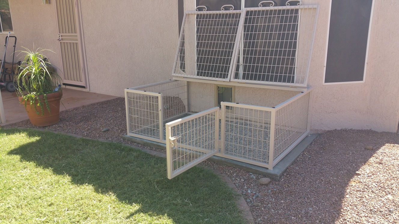 Arizona Snake Proof Dog Kennels.