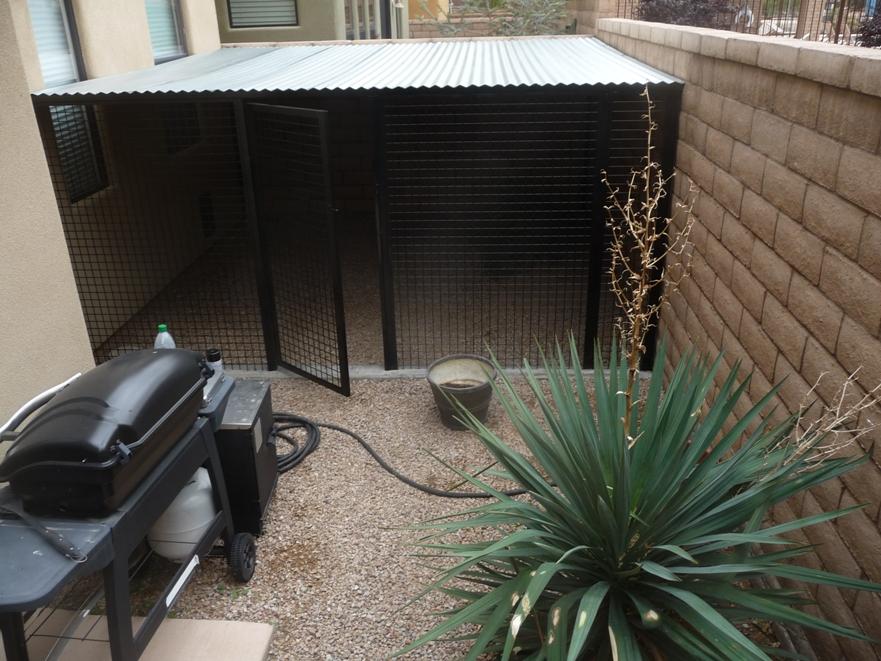 Snake Proof Dog Kennels in AZ.