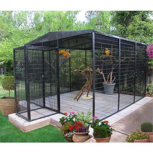 Custom built bird aviaries keep predators out safe for Walk in safe for sale