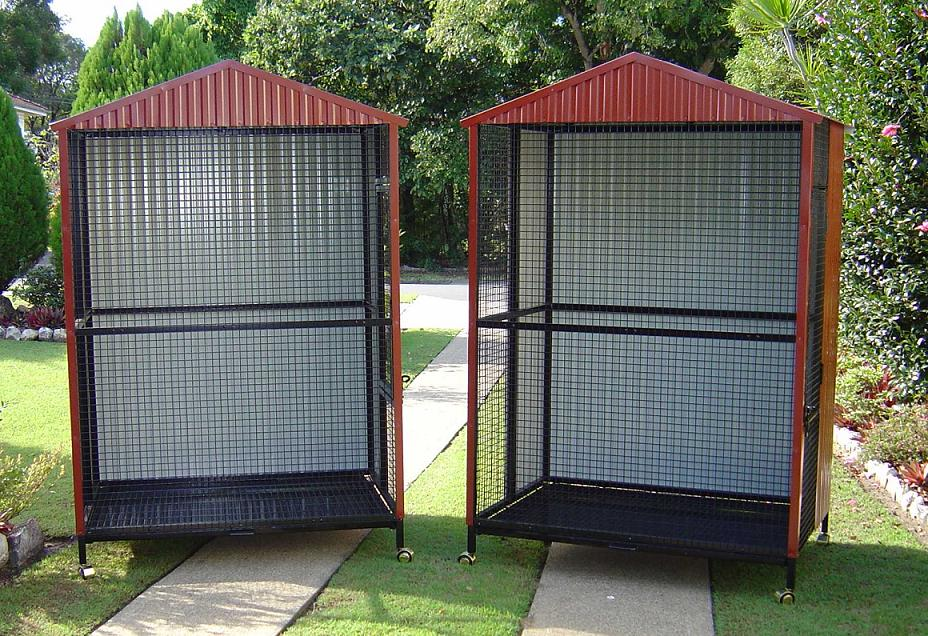 Welded Steel Aviaries Aviaries, No Assembly Required Safest Bird ...