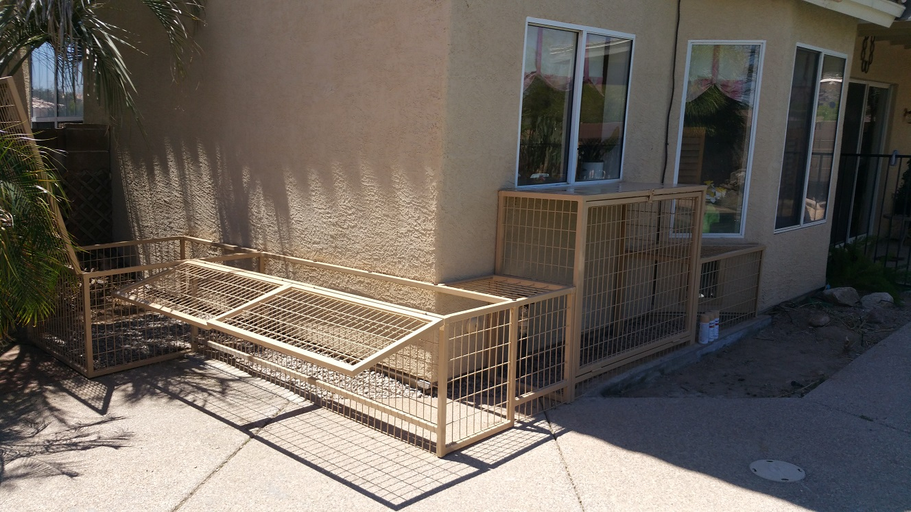 Pet Safe Kennels.
